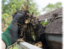 detailed gutter cleaning in calgary